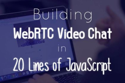 Video Chat in 20 Lines of Code